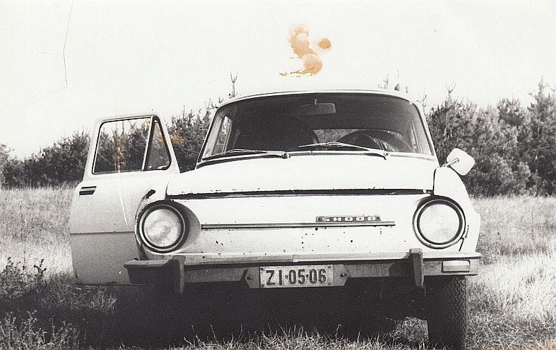 Skoda S 100 az első autóm